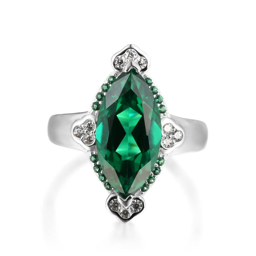 Alair Marquise Emerald Ring