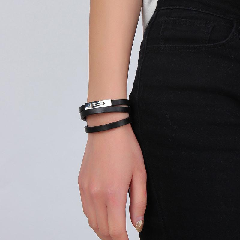 Simple Genuine Leather Bracelet