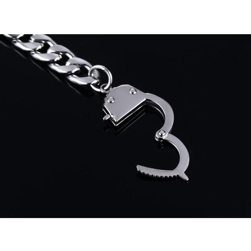 Handcuff Metal Bracelet for Women & Men