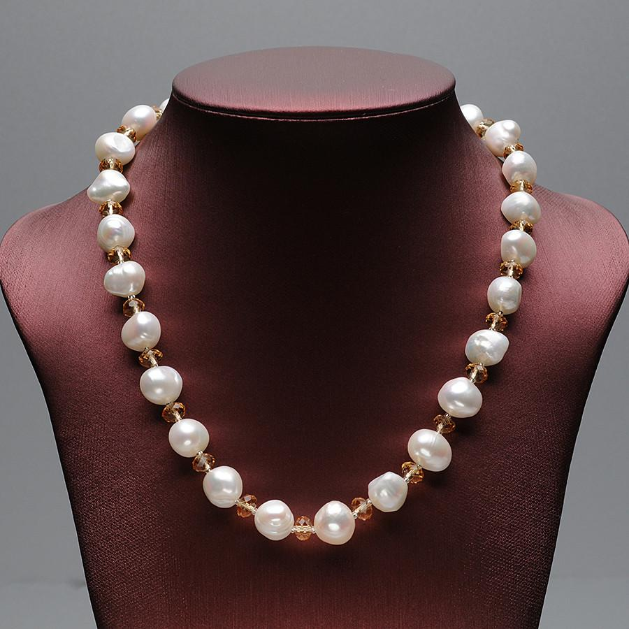 Kwong Baroque Pearl Necklace