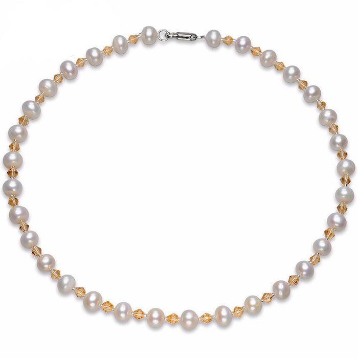Jinghua Round Pearl Necklace