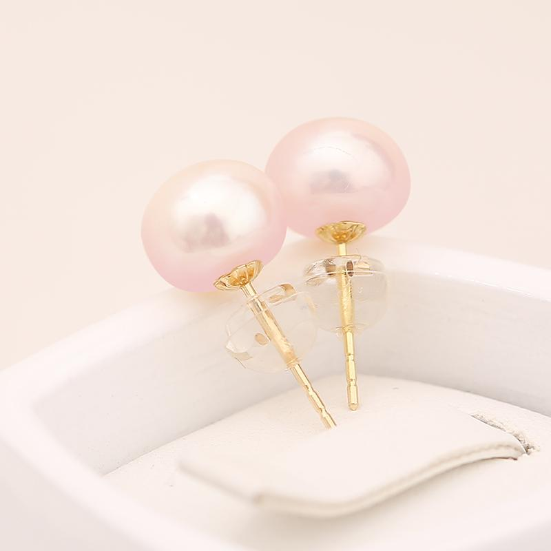 Cherell White Pearl Stud Earring