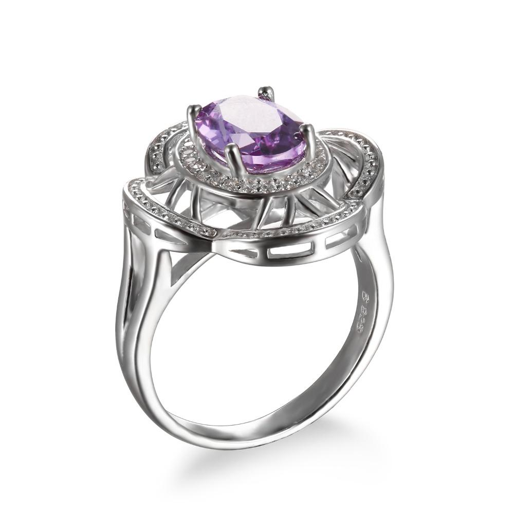 Blondelle Oval Alexandrite Ring