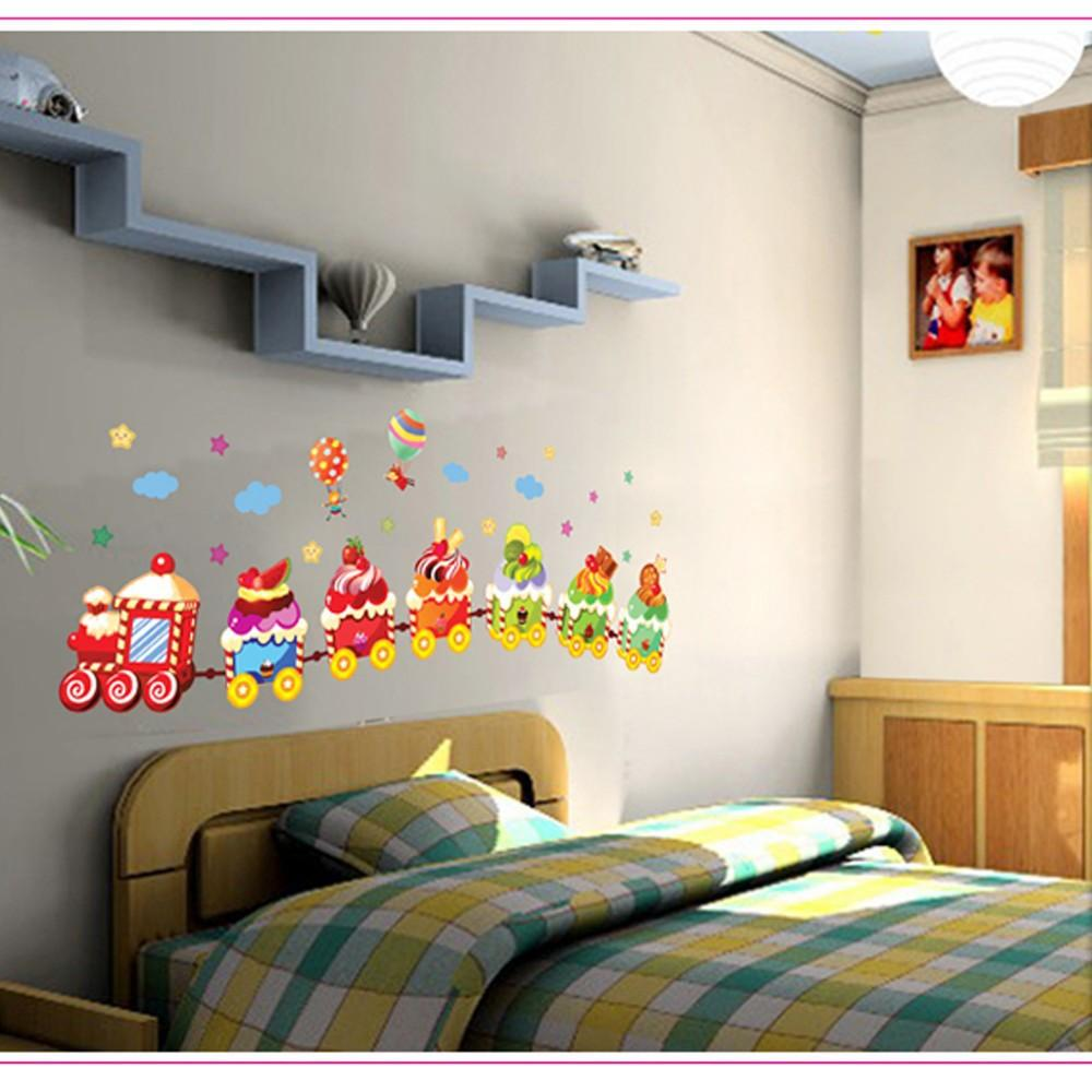 Ice Cream Train Wall Stickers