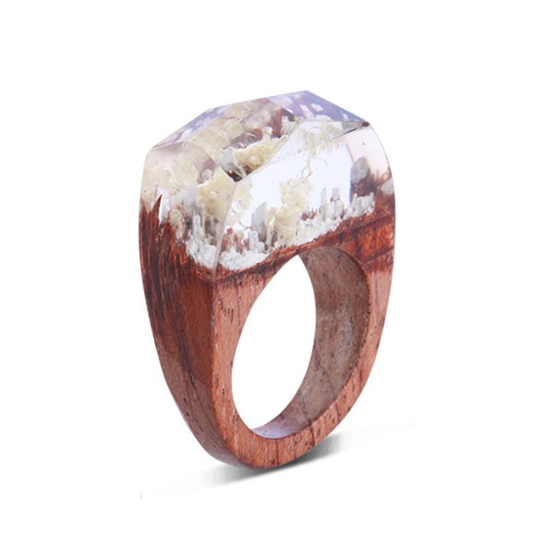 White Peaks Secret Forest Resin Ring