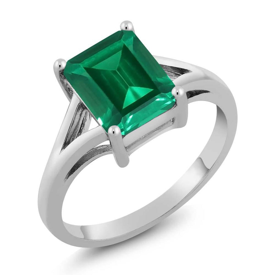 Aloin Octagon Emerald Ring