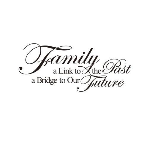Family Past & Future Wall Sticker
