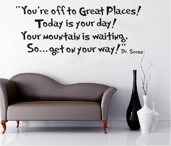 Today Is Your Day Wall Sticker