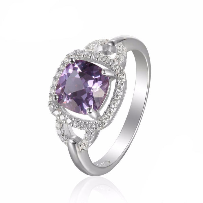Bettine Square Alexandrite Ring