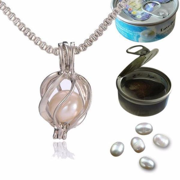 DIY Pearl Oyster Jewellery