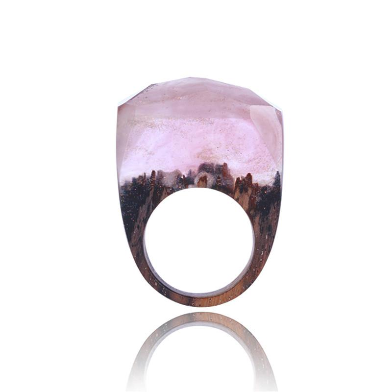 Autumn Secret Forest Resin Ring