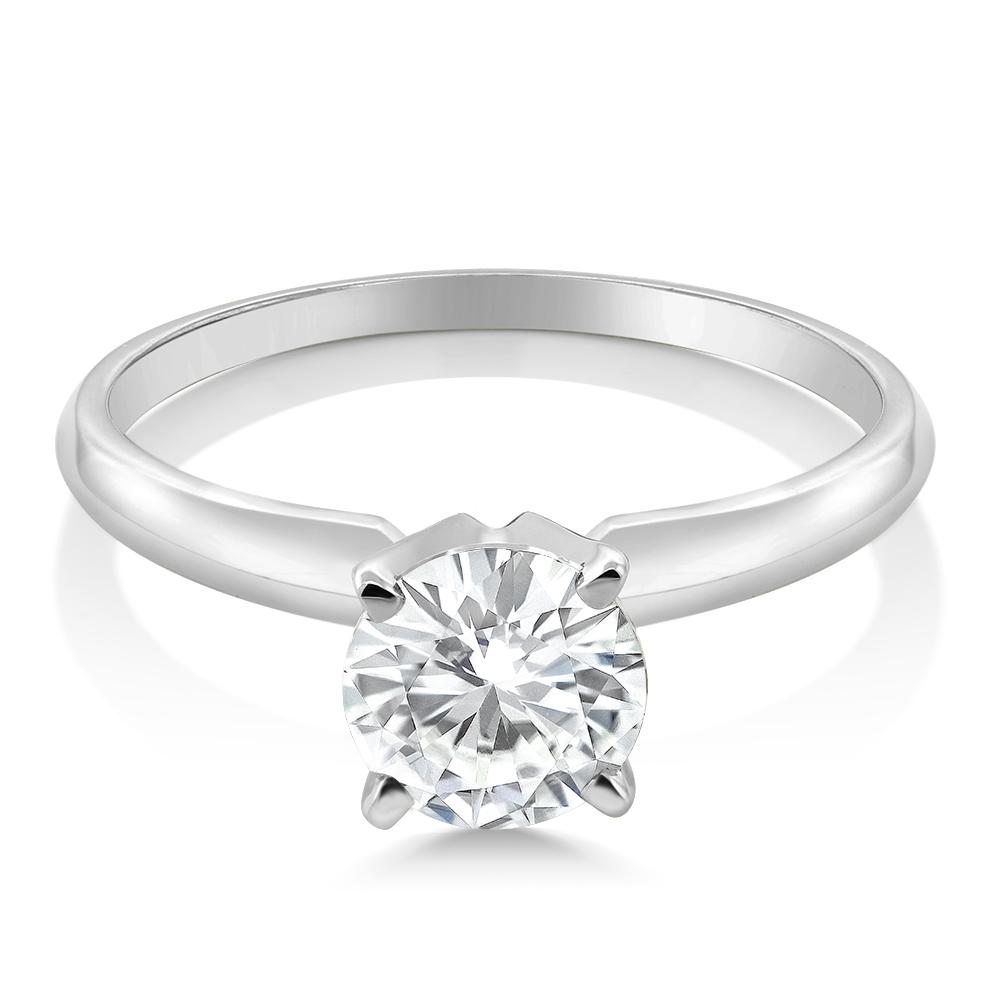 Charles & Colvard Moissanite Ring