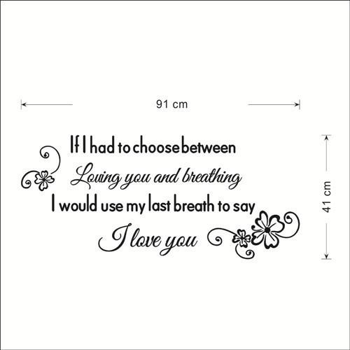 Say I Love You Wall Sticker