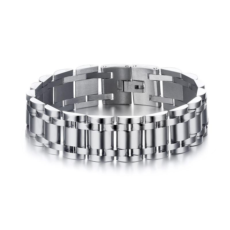 Chunky Chain Stainless Steel Men's Bracelet