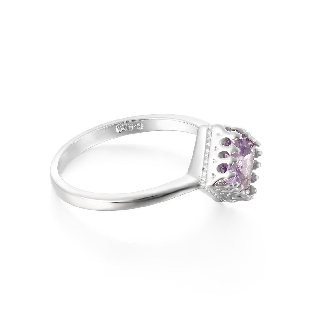 Blondene Square Alexandrite Ring