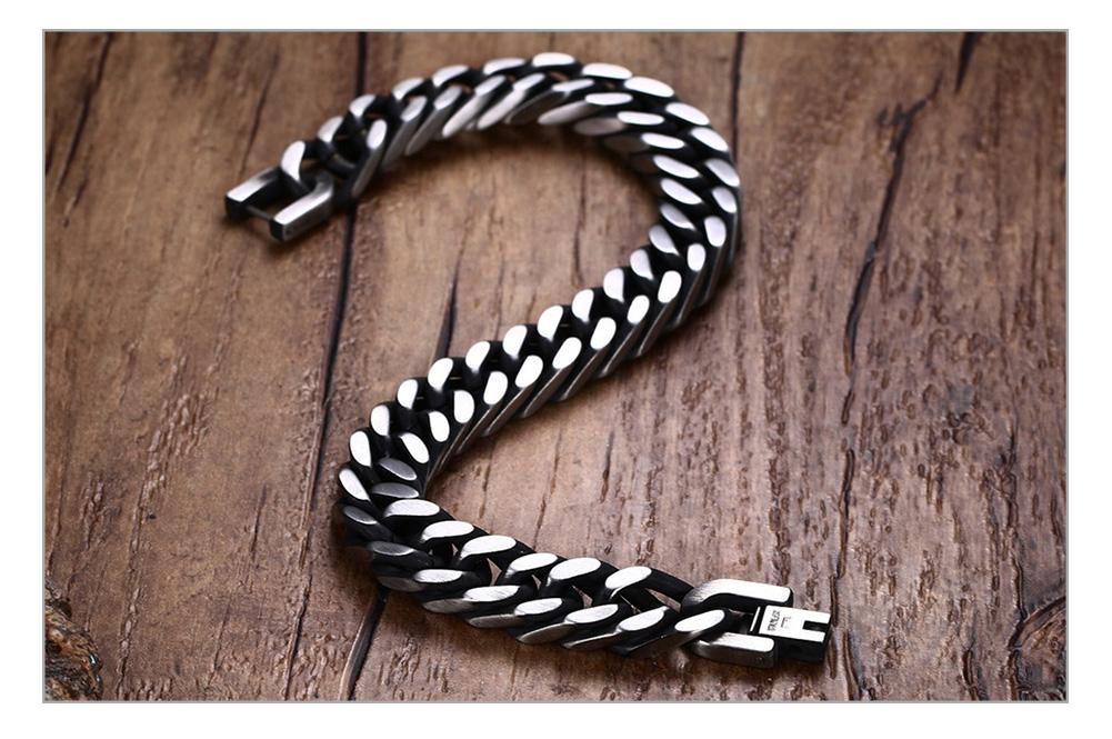 Thick Chain Link Men's Bracelet