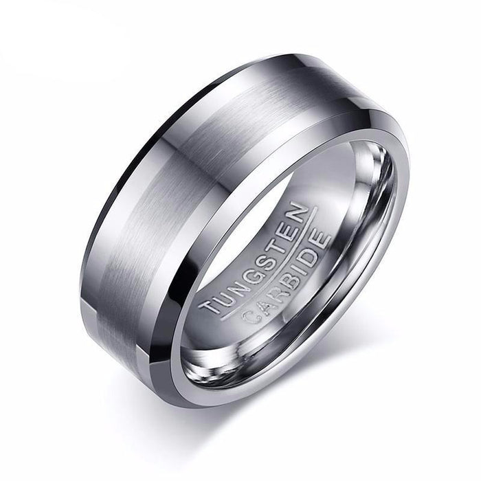 Classical No Rust Tungsten Carbide Ring