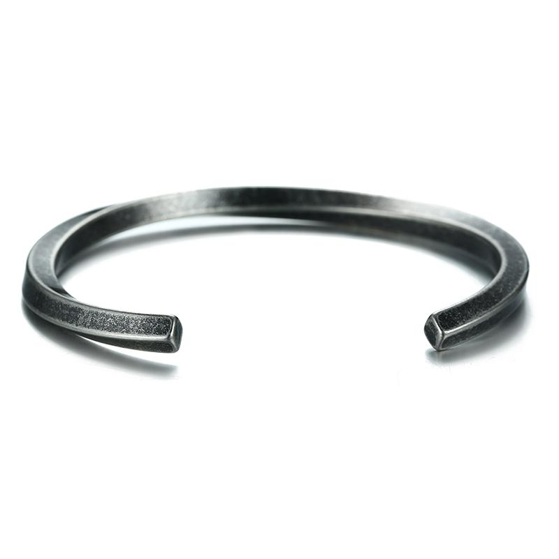 Retro Twisted Bangle Bracelet for Women & Men