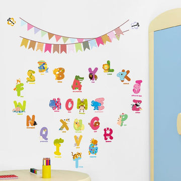English Letters Wall Stickers