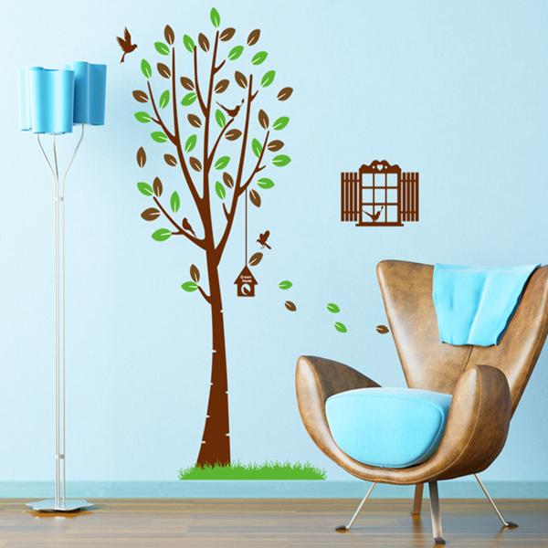 Window & Tree Wall Stickers