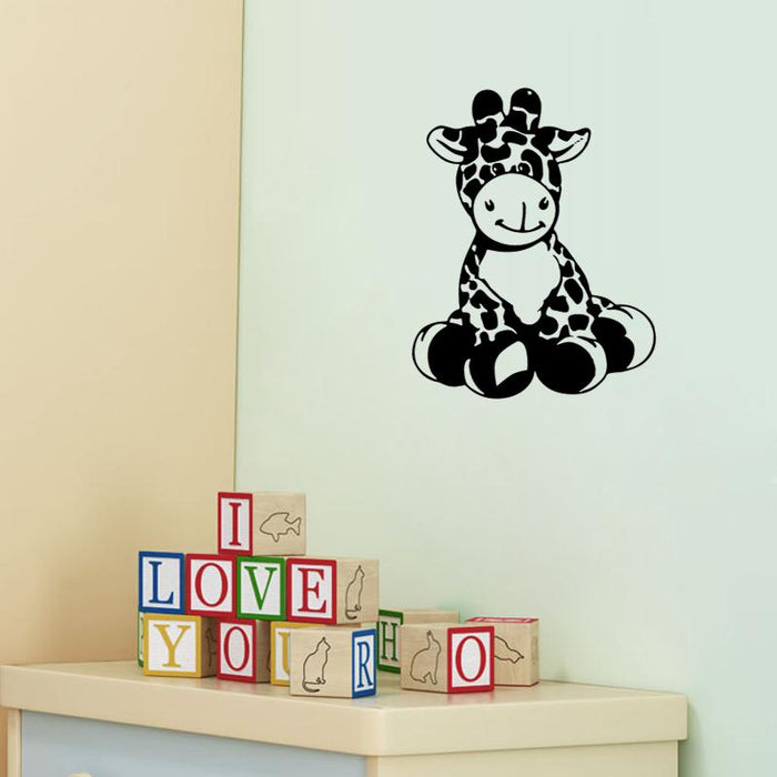 Giraffe Children Room Wall Stickers
