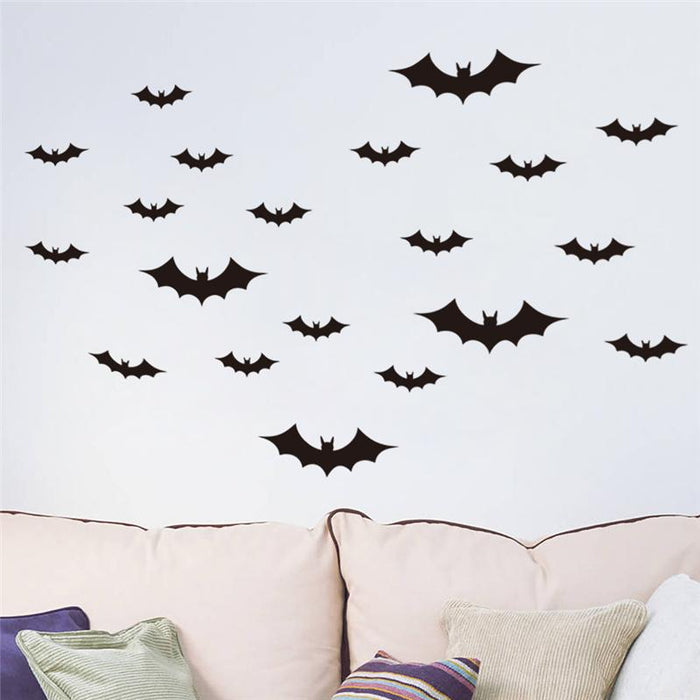 Flying Bats Wall Stickers