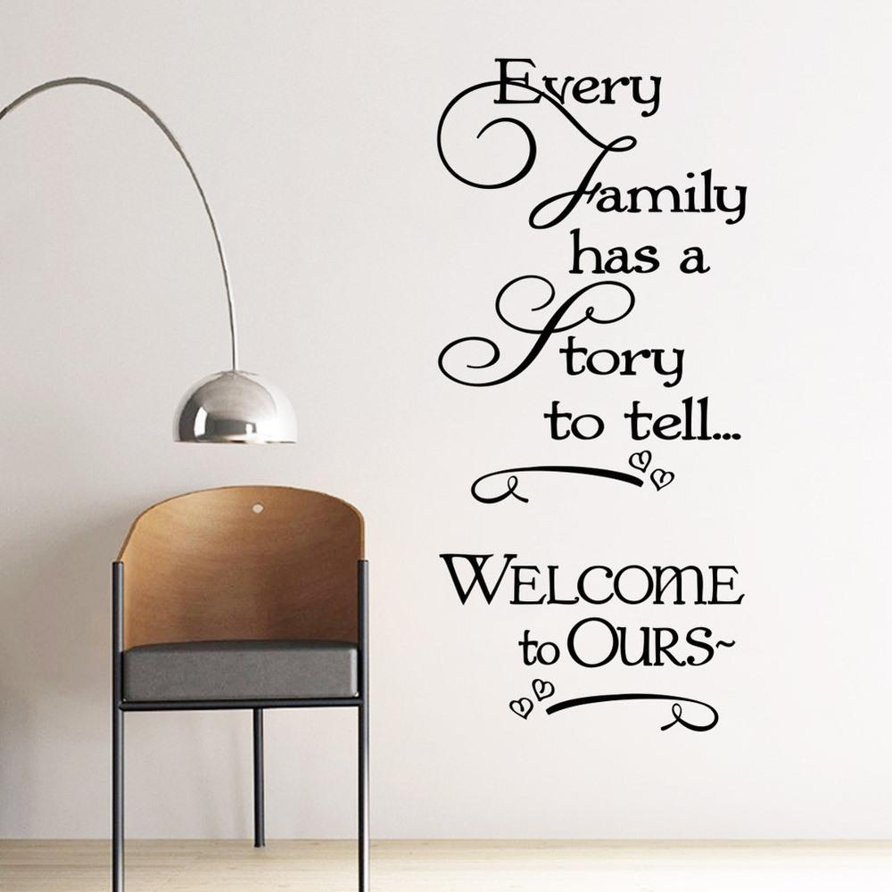 Every Family Has A Story Wall Sticker