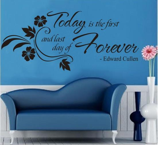 Today and Forever Wall Sticker