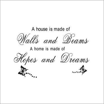 Hopes and Dreams Wall Stickers