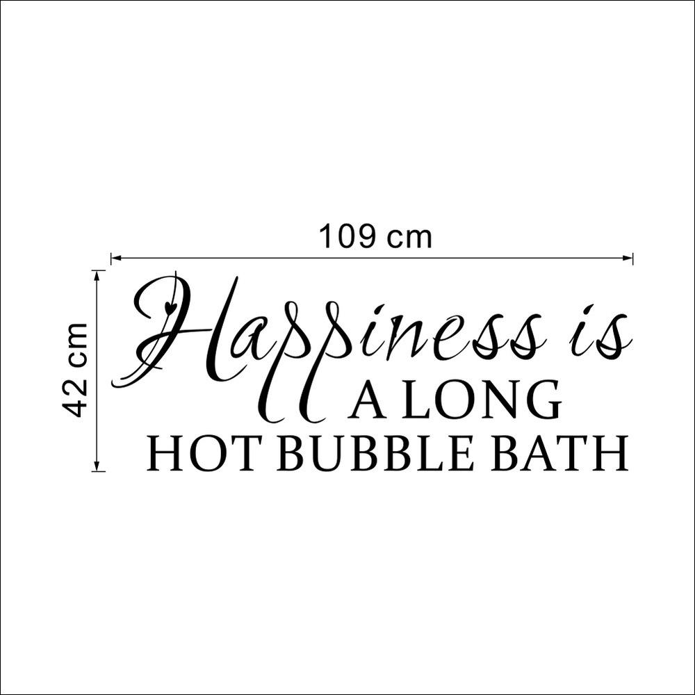 Happiness Quote Wall Sticker