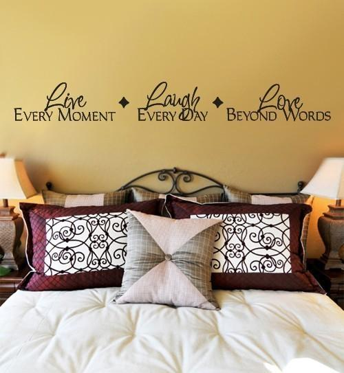 Live Laugh Love Beautiful Wall Sticker