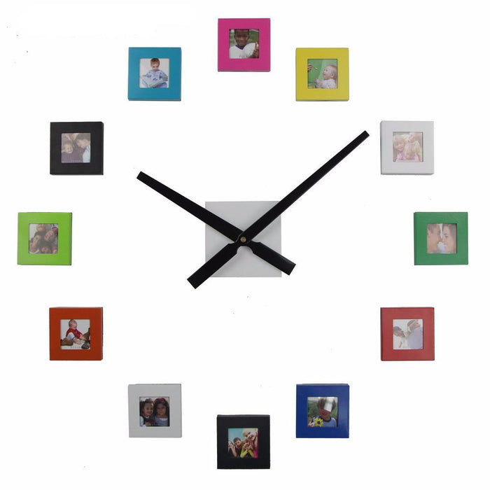 Modern Photo Frame Wall Clock