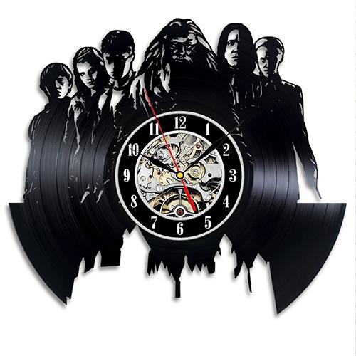 Harry Potter Art Theme Vinyl Record Wall Clock