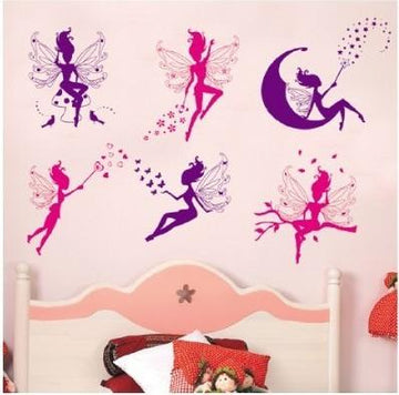 Fairy Silhouettes Angel Wall Stickers