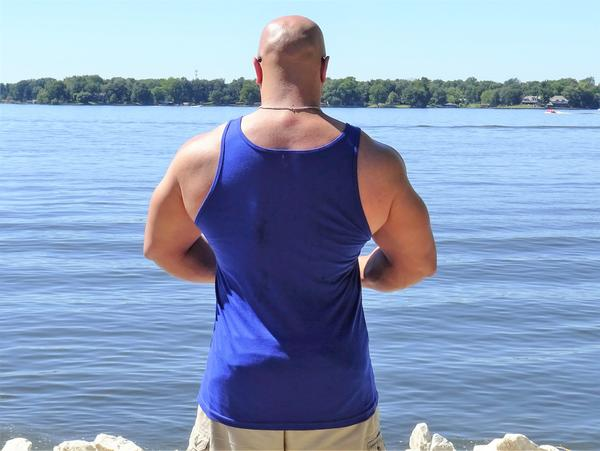 Mens Premuim Moisture Wicking Muscle Tank (Various Colors)