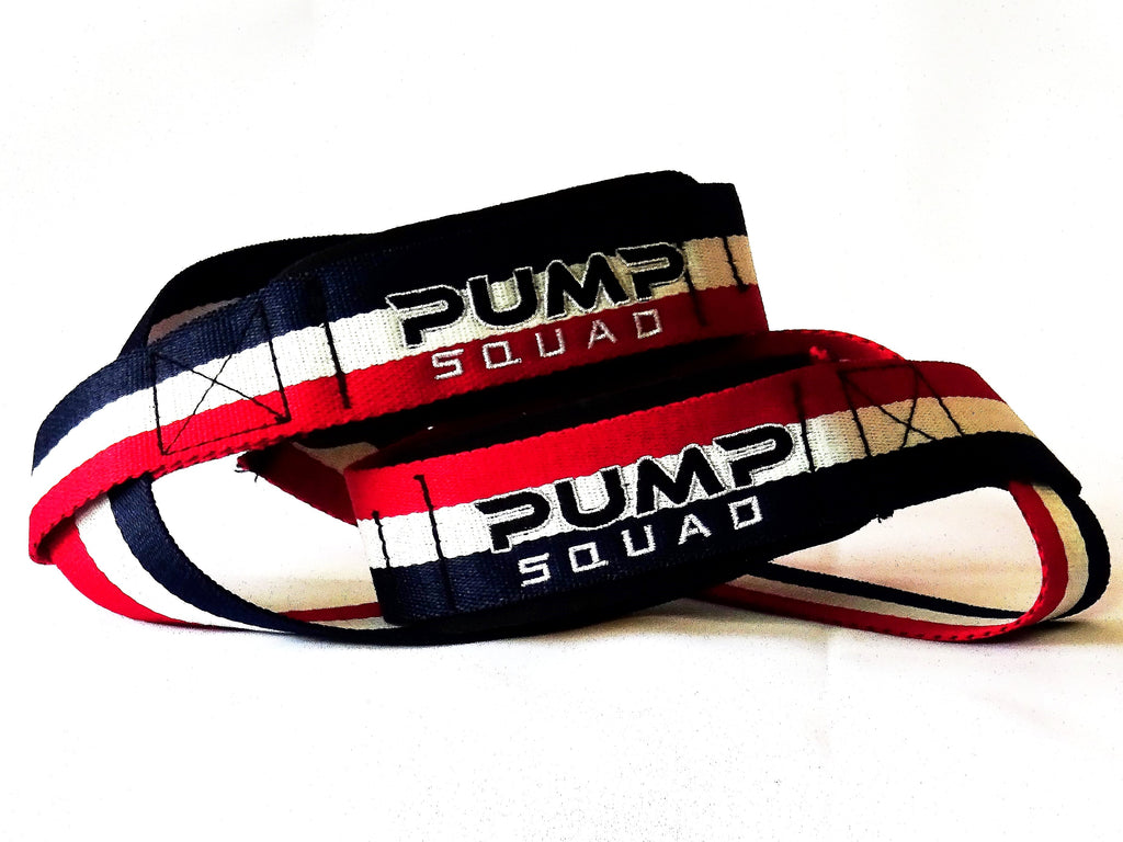 Heavy Duty Premium Padded Lifting Straps (USA Edition)