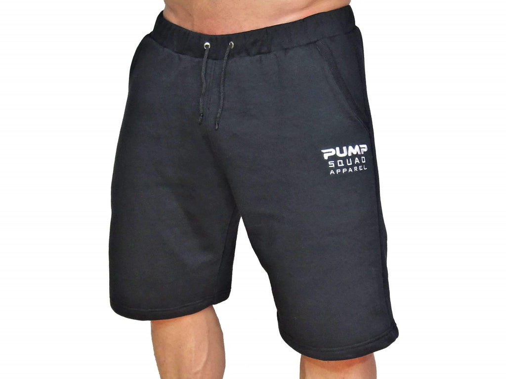 Mens Premium Pro-Preformance Shorts (Black/White)