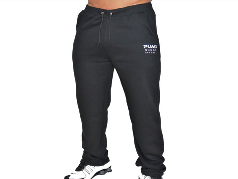 Mens Premium Pro-Preformance Sweat Pants (Black/White)