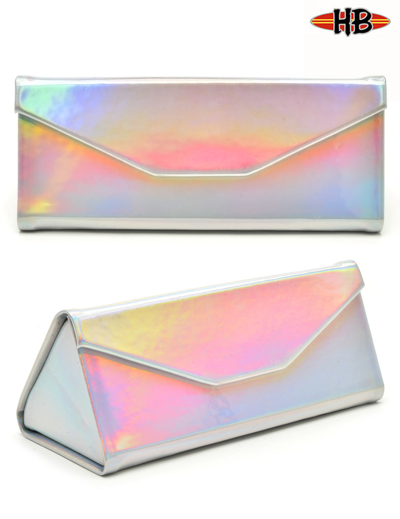 TRIANGULAR IRIDESCENT FOLDABLE CASE