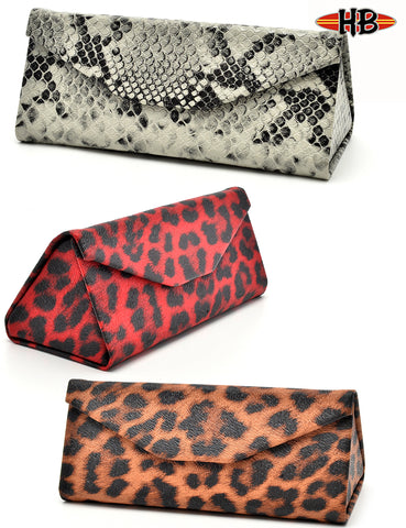 TRIANGULAR ANIMAL PRINT FOLDABLE CASE
