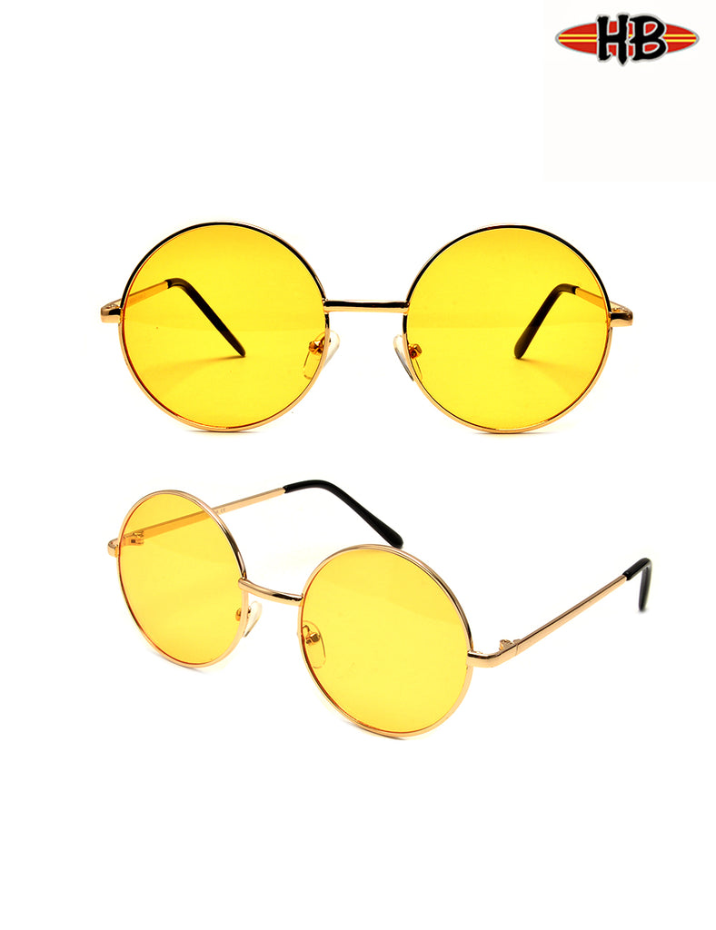 LENNON YELLOW ND - HB Sunglass Company