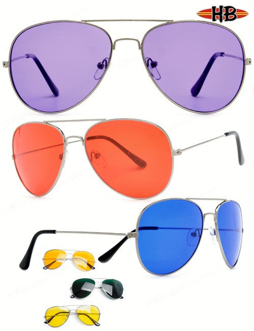 AVIATOR COLOR - HB Sunglass Company