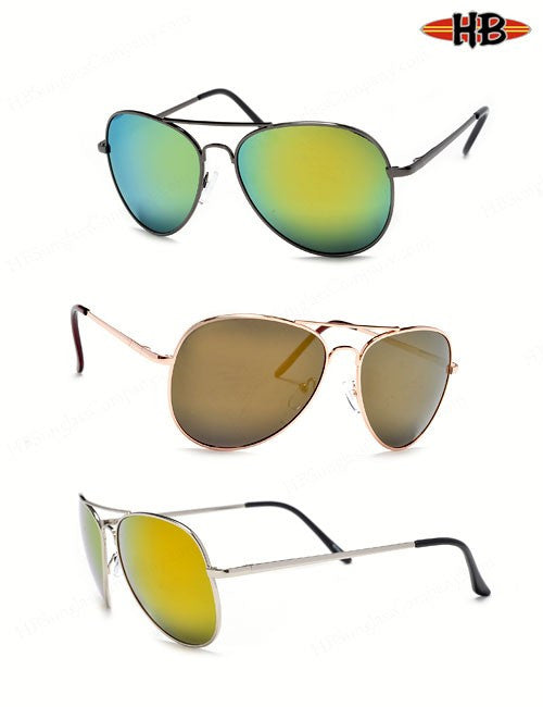AVIATOR POLARIZED RV - HB Sunglass Company