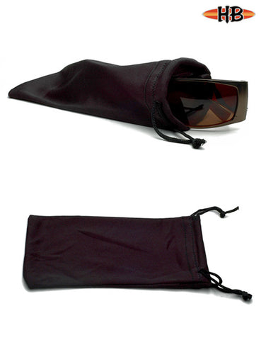 BLACK POUCHES - HB Sunglass Company