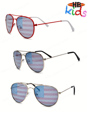 KIDS USA AVIATOR - HB Sunglass Company