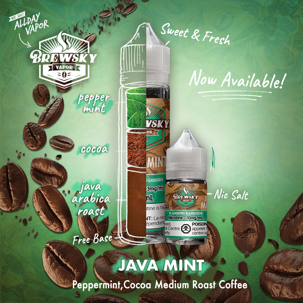 It's a Holiday everyday with Java Mint!