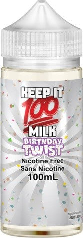Keep It 100 Milk Vanilla Twist/Birthday Twist