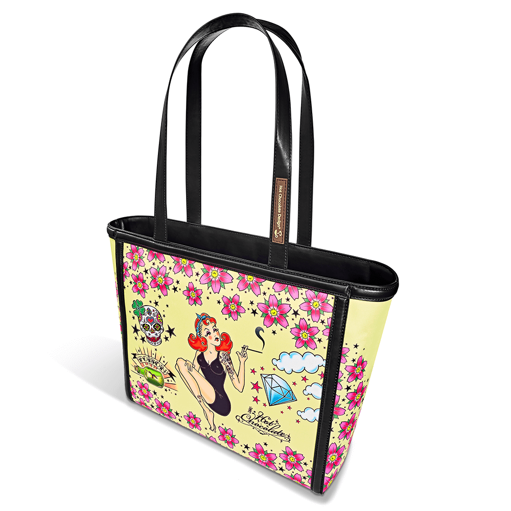 Chocolaticas® Tattoo Women's Tote Bag