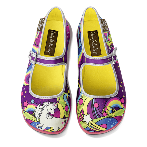 Chocolaticas® Lucy In The Sky Women's Mary Jane Flat