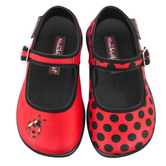 Mini Chocolaticas® Mariquita Girls Mary Jane Flat